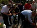 Tunjica: Spomen na civilne žrtve rata, 6.8.2017. Foto: Korana Štrbac