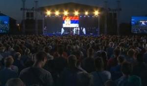 Novi Sad, Veternik, 22 godine od progona Srba iz RSK, 4.8.2017.