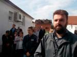 Pred manastirom u Jasenovcu 9.9.2017.