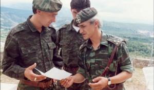 Kapetan Dragan na položaju Foto: GovoriSrbija.rs