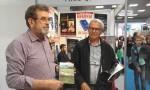 Peti dan Međunarodnog sajma knjiga na štandu Veritasa, 26.10.2017. Foto: Tim DIC Veritas