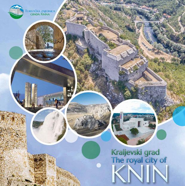 Istorijska brošura o Kninu bez Srba Foto: Večernje novosti