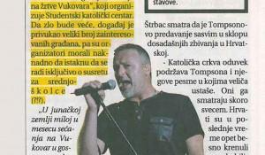 Informer, 23.11.2017, Ustaša uči decu o veri i ljubavi?!