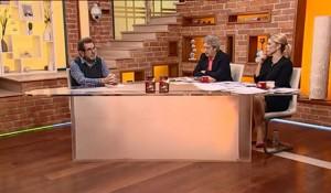 Dobro jutro Srbijo: Savo Štrbac o kanonizaciji A.Stepinca, 2.11.2017, Happy TV TV Foto: Screenshot
