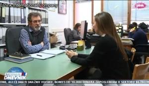 TV Pink, 01.12.2017, Nacionalni dnevnik: Izjava Save Štrbca povodom presuda u predmetu Prljić i drugi