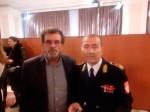 Savo Štrbac i general Dušan Kukobat Foto: Milojko Budimir