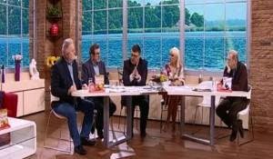 TV Pink, Novo jutro, 09.02.2018, Dea i Sarapa – gosti: Savo Štrbac, Ratko Dmitrović i Zoran Milivojević