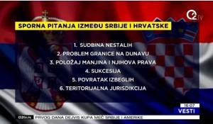 Izjava Save Štrbca za TV O2 - Nova runda burnih odnosa Srbije i Hrvatske