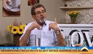 TV Pink, Emisija Svitanje - Odnosi Srbije i Hrvatske, Jasenovac i žrtve i osporavanja, 26.4.2018.