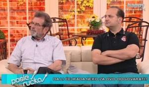 """Happy.tv, 07.05.2018, Posle ručka: DA LI ĆE IKADA NEKO ODGOVARATI? Akcija """"Bljesak"""" bila je etničko čišćenje! Foto: Screenshot"""