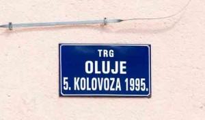 Knin, Trg Oluje Foto: Privrednik Portal.net