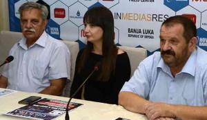 Konferencija za medije DIC Veritas, Banja Luka, 3.6.2018. Foto: SRNA