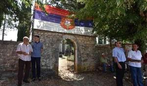 SNV: Kod Knina održana komemoracija za Srbe ubijene nakon Oluje Foto: Vidovdan, Index