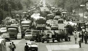 """Operacija etničkog ćišćenja Srba iz RSK, hrvatske vojske avgust 1995, """"Oluja"""" Foto: Profimedia/AFP"""