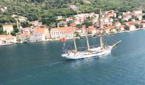 """Hrvatska od Crne Gore traži Školski brod Hrvatska od Crne Gore traži Školski brod """"Jadran"""" i """"Mig 21"""", Foto: RTCG"""