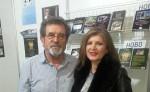 Susret sa čitateljkom Jasminkom Simić na 63. međunarodnom Sajmu knjiga Foto: Jasminka Simić