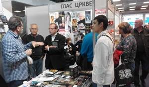 Četvrti dan 63. međunarodnog sajma knjiga, 23.10.2018. Foto: DIC Veritas