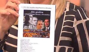 HRT: 100 godina srbijanskog terora Foto: Screenshot