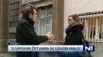N1, Dnevnik u 19, 18.11.2018, Sećanje na žrtve Vukovara, bez predstavnika srpske zajednice Foto: Screenshot