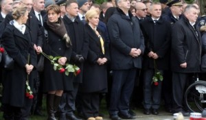 Vukovar: Sporne čizme Kolinde Grabar Kitarović Foto: Republika, Tanjug, Denis Cerić