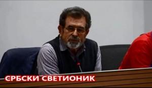 "SrbskiSvetionik: Akademija ""Krajina živi"" – Savo Štrbac, 17.12.2018.Foto: Screenshot"