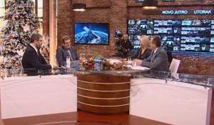 TV Pink, 08.01.2019, Novo jutro – Irena i Žika: gosti Savo Štrbac i Nemanja Starović