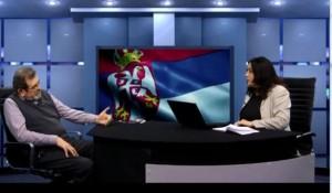 Srpska priča,13.01.2019, Horizont događaja: Skandalozna Božićna čestitka-poruka Srbima Foto: Screenshot
