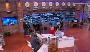 TV Pink, 29.01.2019, Novo jutro: Irina i Žika – Sudbina srpske imovineu Hrvatskoj – Štrbac i Simić Foto: Screenshot