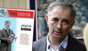 Hrvatski tjednik, naslovna strana, januar 2019. Milorad Pupovac Foto: Maxportal
