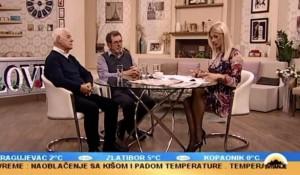 Tv Pink, 11.02.2019, Svitanje - Savo Štrbac i Miroslav Stojanović Foto: Screenshot