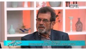 Savo Štrbac u emisiji Posle ručka, televizije Happy, 14.2.2019. Foto: TV Happy, screenshot