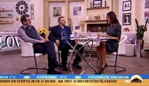 TV Pink, Svitanje, 04.03.2019, Naslovne strane - Savo Štrbac i pukovnik Ljuban Karan