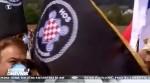 TV Pink, 14.03.2019, Nacionalni dnevnik: Pometnja u Hvatskoj oko Blajburga Foto:Screenshot