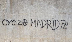 Šibenik.in, 09.03.2019, Grafiti nepismenih ljubitelja fašizma i nacizma pojavili se na Šubićevcu uoči preznetacije projekta obnove spomen parka strijeljanima