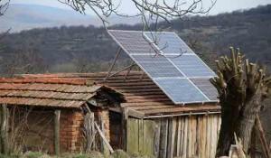 Cikote (Pakrac), solarni paneli 2005. Foto: Pakrački list