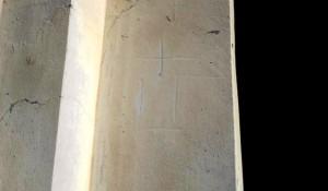 Mirkovci: Oskrnavljena Crkva Prenosa moštiju sv. Nikole Foto: Večernji list