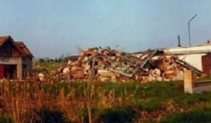 Podravska Slatina, ruševine kuće Novakovića Foto: Vesti, lična arhiva, ilustracija