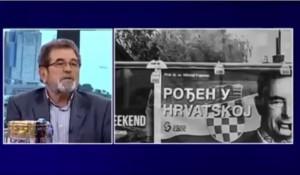 Novo jutro: Povici u Kijevu protiv Srba, 14.5.2019. Foto: screenshot