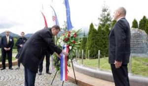 Blajburg: Jandroković položio vence u Blajburgu, 16.5.2019. Foto: screenshot