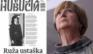 Portal Novosti objavio foto Ruže Tomašić u ustaškoj uniformi Foto:Jutarnji list