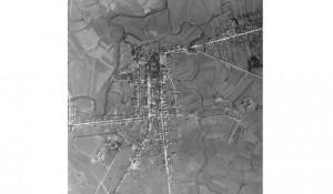 Aero snimci RAF, Glina avgust 1944. Foto: Portal Novosti