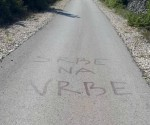 Grafiti mržnje i u Erveniku Foto: Srbi.hr