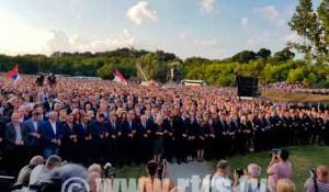 RTRS: Obilježen Dan sjećanja na Srbe stradale u Oluji, 2019. Foto: RTRS