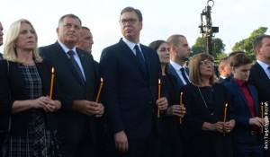 Krušedol: Dan pamećanja Srba Krajišnika stradalih 1995. Foto: RTS