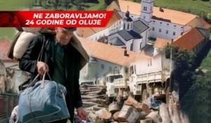 Krušedol, spomen na 24 godine hrvatskog progona Srba iz Krajine, RSK