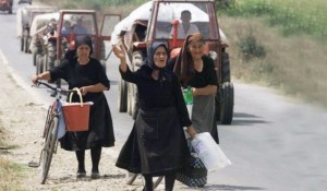 Srpske izbeglice u hrvatskoj operaciji etničkog čišćenje Oluja Foto: Glas Srpske, athivska fotografija