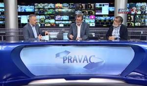 Pravac: Odnosi Srbije i Hrvatske su napeti, 9.9.2019. Foto: Pink.tv screenshot