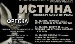 Savo Štrbac u Cirihu 13-15 septembra 2019. Foto: Srpski nacionalni savet Švajcarska