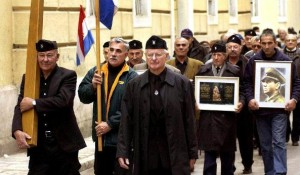Marš ustaša u Zagrebu, Kolindini antifašisti Foto: Sputnjik