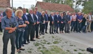 Vraivode i Gošić - sećanje na nekažnjeni zločin, sa pomena u Varivodam, 2019. Foto: Srbi.hr